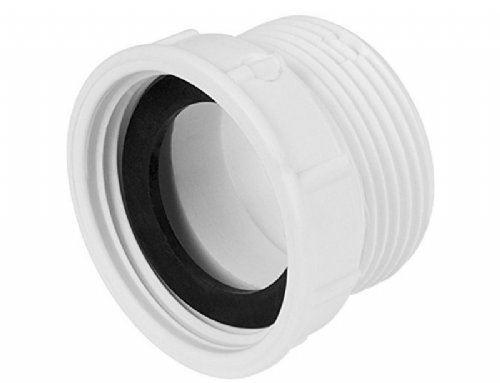Mcalpine T12A-F European to UK Waste Outlet Adaptor In White - Pack Of 10
